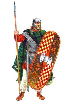 Gallic Warrior 3rd Century BC