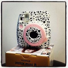 Fujifilm Instax Mini 8 Instant Polaroid Camera Customized Color ...