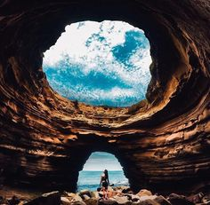 Pinterest // @Givememycrown [Cabrillo Caves, San Diego]