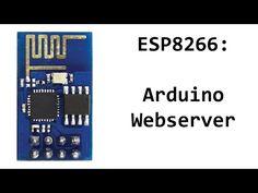 ESP8266 and Arduino Webserver Code and Sketch