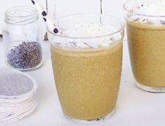 creamy lavender Earl Grey Smoothie, so different #bestsmoothie #vegasmoothie