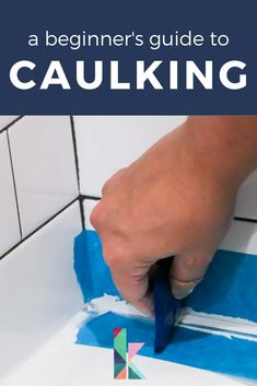 Learn how to caulk like a pro even if you are a beginner. This step-by-step guide to caulking is eas Do It Yourself Furniture, Do It Yourself Home, Improve Yourself, Caulk Baseboards, Bathroom Caulk, Bathtub Caulking, Caulking Tips, Design Your Dream House, Simple Life Hacks