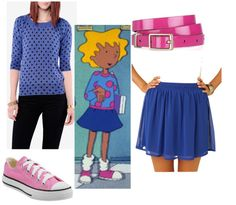 Patty Mayonnaise from Doug if you currently have yellow hair, Clever Costumes, Diy Halloween Costumes, Awesome Costumes, Halloween Ideas, Costume Ideas, Halloween 2014, Happy Halloween, 90s Cartoon Costumes, Cartoon Outfits