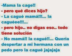 chiste: La cague