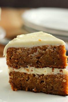 El blog de Ana H: Carrot Cake o Pastel de Zanahoria