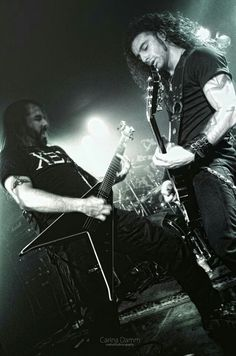 Sakis and George Rotting Christ, Band Photography, Heavy Metal Bands, Belly Dance, Black Metal, My World, Cool Bands, Rock N Roll, Blues