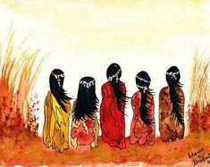 American Indian Girl, Native American Girls, Native American Quotes, Native American Symbols, Native American History, Indian Girls, Indian Art, Native Indian, American Decor