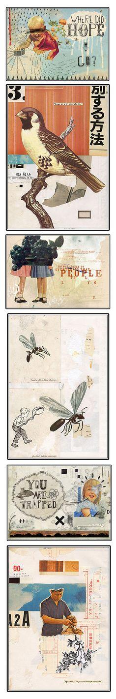 Eduardo Recife collages