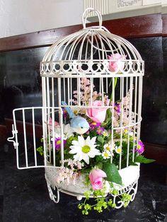 bird cage arrangements | birdcage arrangement | Flickr - Photo Sharing!