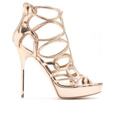 a933c2fbff9c Jimmy Choo  Blast  gold sandals -  995. HRH has worn them once