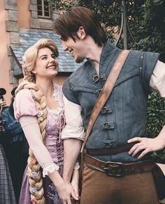 Punk Disney Princesses, Disney Rapunzel, Princess Rapunzel, Disney And More, Disney Love, Disney Magic, Disney Couples, Disney Princess Facts, Disney Fun Facts