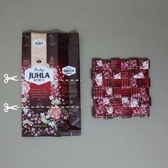 Recycling, Coffee Bags, Crafts, Instagram, Google, Coffee Sacks, Manualidades, Coffee Sachets, Handmade Crafts