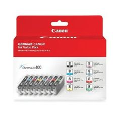 Amazon.com: Canon CLI-8 8-Color Multipack Ink Tanks: Electronics - $87.24