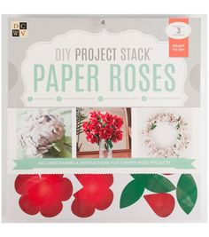 DIY stacks from DCWV make crafting a cinch. With the majority of pieces already cut or templates available for tracing, assembling the different projects is easy and nearly effortless.  Stacks are ava