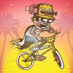 Funky Vector Art by Musketon   Abduzeedo   Graphic Design Inspiration and Photoshop Tutorials
