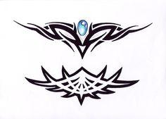 tribal tattoo design img1 «TRIBAL «Flash tatto sets «Tattoo ... Tribal Tattoo Designs, Tribal Tattoos, Goose Tattoo, Cute Tattoos, Rooster, Piercings, Tattoo Ideas, Art, Peircings