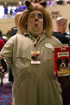 Barf, DragonCon 2011 Spaceballs. View more EPIC cosplay at http://pinterest.com/SuburbanFandom/cosplay/... #Costume #Ideas #Cosplay #DragonCon #Atlanta #Halloween