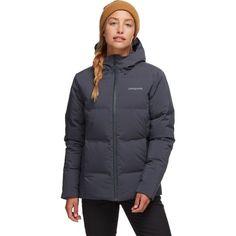 Patagonia Jackson Glacier Jacket - Women's   Backcountry.com Patagonia Winter Coat, Patagonia Jacket, Hiking Jacket, Winter Hiking, Body Heat, Jackets Online, Winter Outfits, Winter Clothes, Jackson