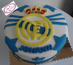 Cake del Real Madrid