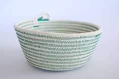 Fab for Welcome Bag! - Rope Bowl Medium // Custom Colour by Zillpa on Etsy, $30.00