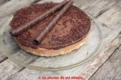 tarta de mousse de chocolate a la naranja