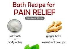 Get Rid Of Your Aches and Pains With These Soothing Baths