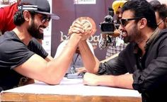 Baahubali: Prabhas, Rana Daggubati Face Off In Arm Wrestling Duel