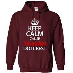 BRUNETTES do it best - #tshirt logo #matching hoodie. PURCHASE NOW => https://www.sunfrog.com/Faith/BRUNETTES-do-it-best-5349-Maroon-19098768-Hoodie.html?68278
