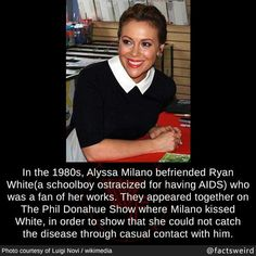 Weird Facts, Fun Facts, Ryan White, Good Woman Quotes, Medical Mnemonics, School Boy, Did You Know, Feminism, Amazing Women