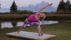 YogaToday offers yoga videos and online yoga classes. New streaming videos of all styles offered every day.