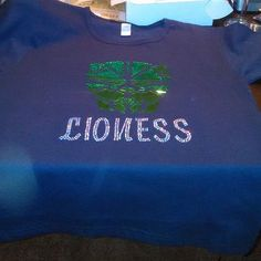 You want your T-Shirt to be unique and special, customize it today with Queen Raven's Rhinestone Apparel.