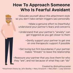 Those who identify with the Fearful Avoidant Attachment Style (also known as disorganized attachment) had a parent that they felt both… John Maxwell, Attachment Quotes, Attachment Theory, Attachment Parenting, Mbti, Relationship Therapy, Relationship Advice, Relationship Psychology, Mental And Emotional Health