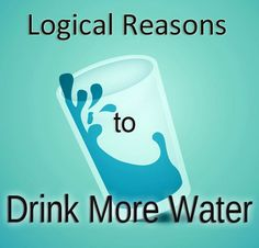 Simple and Logical Reasons to Drink More Water | Can you lose weight by just drinking more water? Or get rid of fatigue?