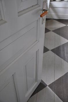 Beautiful door and floor