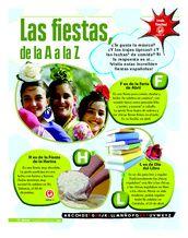 Las fiestas, de la A a la Z - Artículo sobre diversas fiestas españolas para hablar sobre las celebraciones y practicar los meses del año y practicar comprensión de texto Comprensión escrita Comprensión de texto/Expresar opiniones Key Stage 3, Year 8-9