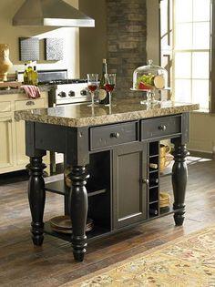 Dining/Kitchen Furniture, Blackstone Kitchen Island   Havertys Furniture