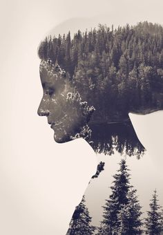 How To Create a Double Exposure Effect in Photoshop - Pinned from http://blog.spoongraphics.co.uk/