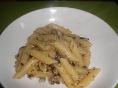Penne+radicchio,noci+e+gorgonzola