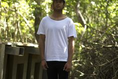Basic Plain Tee by Envy Clothing on Young Republic - http://www.youngrepublic.com/men/basic-plain-tee.html