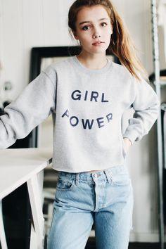 Brandy ♥ Melville | Nancy GIRL POWER Sweatshirt - Graphics