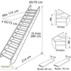 image result for plan and section of staircase details