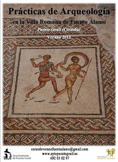 Practicas de Arqueología en la Villa Romana de Fuente Álamo (Puente Genil, Cordoba), del 1 de julio al 14 de agosto de 2012.