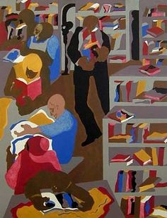 Schomburg Library - Jacob Lawrence