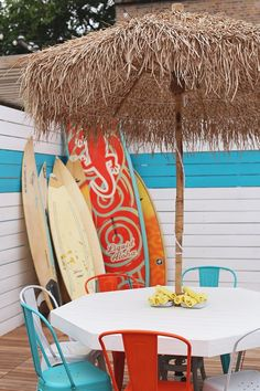 Snapshot that restaurant patio decor and bring it home with you.