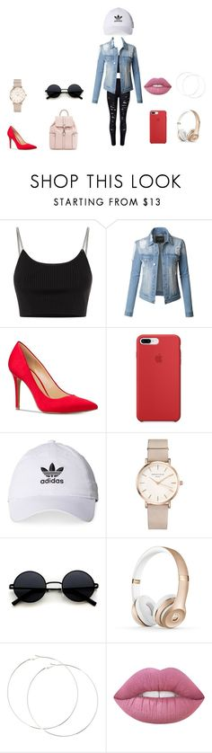 """Lets Go"" by livliv017 on Polyvore featuring Alexander Wang, LE3NO, Michael Kors, adidas and ROSEFIELD"