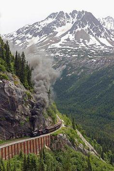 Mountain Rail, Yukon, Alaska ~ Blogger Pixz