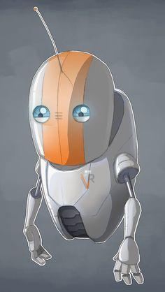 ArtStation - 'Guidebot Mk2' Character Art, Daniel Jutson