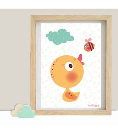 online decohappy picture frame cartoon poster illustrations children film baby duck color drawings my - Printable Drawings For Kids