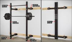 Rogue RML-3W Folding Wall Rack  $400-$600 range.