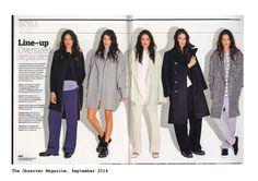 Observer Magazine Magazine, Coat, Jackets, Collection, Women, Fashion, Down Jackets, Moda, Sewing Coat